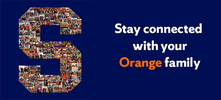 Stay connected with your Orange family